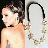 Europe British Style Fashion Star Olive Leaf Decoration Romantic Hair Band