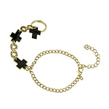 European Fashion Punk Style Cross-Piece Bracelets