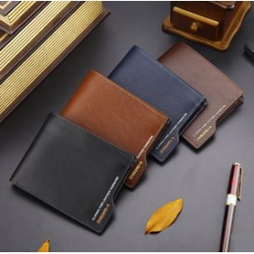 Men's Casual Short Paragraph Thin Fashion Trend Wallets