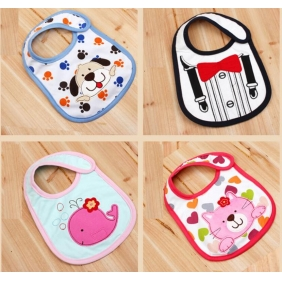 Cotton Cartoon Waterproof Bib