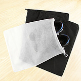 Non-Woven Traveling Shoe Outdoor Drawstring Dust Pouch