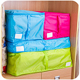 Multicolor Clothing Quilts Pouch Packing Underwear Socks Storage Bags