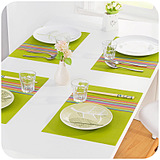 Continental Simple Rectangular Waterproof Placemat Insulation Pads