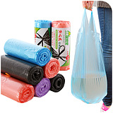 Color Household Garbage Bags Break Type Garbage Portable Pouch