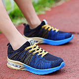 Sports Leisure Lightweight Cushion Breathable Mesh Running Shoes