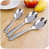 Creative Thick Stainless Steel Tableware Spoon