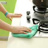 Not Oil Contaminated Kitchen Dish Cleaning Towels Cloth