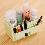Bright Multi-Compartment Cosmetic Storage Box