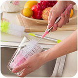 Round Bendable Color WashCup Long-Handled Brush