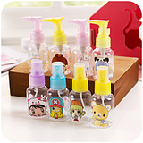 Portable Pressing Cosmetic Skincare Lotions Mist Spray Bottle