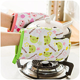 Creative Cartoon Microwave Oven Mitts/pc