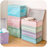 Style Elegant Clothing Covered Storage Box