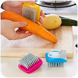 Kitchen Fruits Vegetables Mini Cleaning Brush