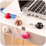 Cable Wire Gather Organize Admission Securing Clip/6 pcs