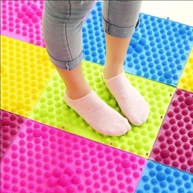 Korean Running Man Foot Massage Cushion-Relieve Fatigue, Improve Sleep Quality, Promote Blood Circulation, and Enhance Physical Fi