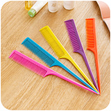 Professional Candy-Colored Plate Hair Comb