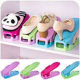 Free Combination Pattern Color Double-Removable Shoe Rack