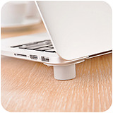 Portable Notebook Anti-Skid Cooling Pads/4 pcs