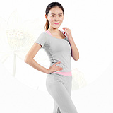 Modal Fabric Fitness Three-Piece Suit Yoga Clothes