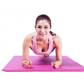10mm Thick Exercise Mat Fitness Yoga Mat