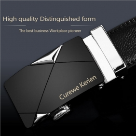 European Men's Automatic Buckle Belt