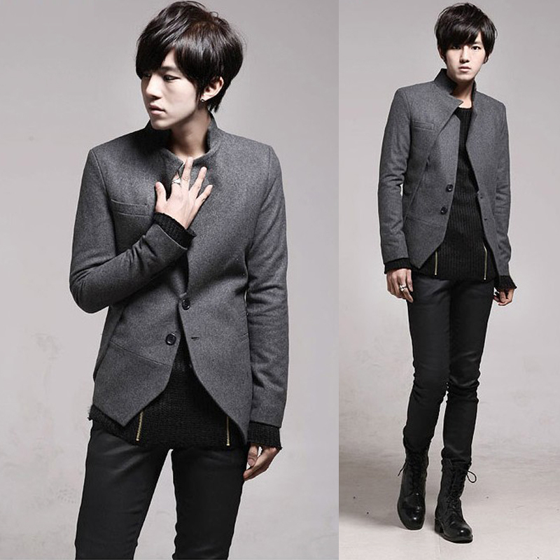 Korean Fashion Men's Jacket Coat