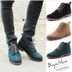 Korean Men's Casual Boot Shoes