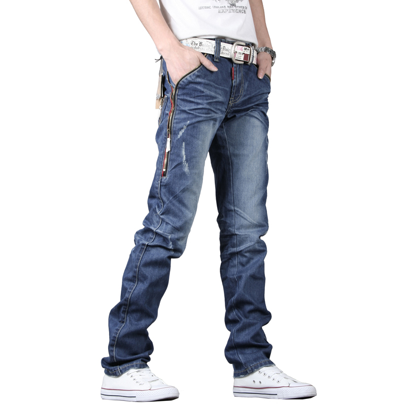 Korean Slim Fit Men's Jeans