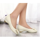 Genuine Leather Bow Women Shoes