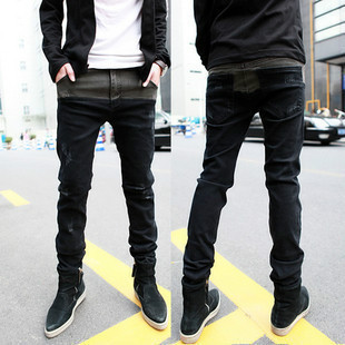 Korean Fashion Slim Fit Casual Men's Jeans