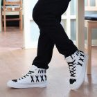 Korean Men's Street Skull High-Top Shoes