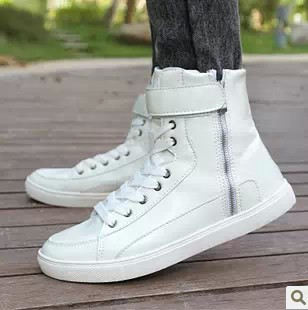 Korean Models Men's Casual High Top Boots Shoe