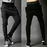 Korean Elastic Waist Long Sport Pants Trousers