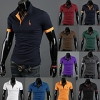 Korean Men's Short-Sleeved Slim Fit POLO T-Shirt