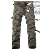 Military Loose Straight Long Pants Trousers