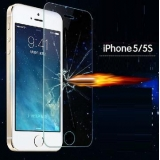 iphone5/5S/4/4S Explosion Finger Print-Proof Ultra-Thin Screen Protective Cover Film Protector  0.1