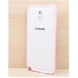 Samsung Note3 White Color Double Hornet Border Protection Cover