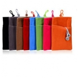 Apple Samsung Cell Phone Power Bank Camera Pocket Flannel Bags