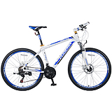 26 Inch Aluminum Frame Double Disc Damping  21 Speed Mountain Bike