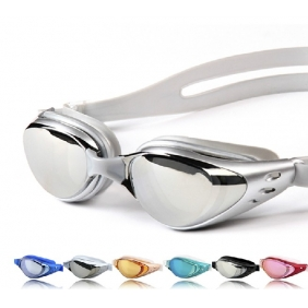 Plating Plain Myopia Swimming Goggles Glasses