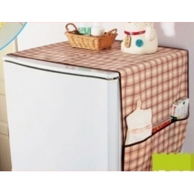 Household Refrigerators Anti-Dust Pastoral Cloth Pouch