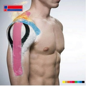 Professional Sports Muscle Elastic Bandage Stickers