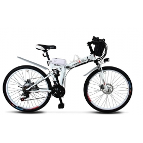 26-Inch 36V15A Foldable lithium Electric Scooter Bike Bicycle