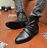 England Casual Pointed Boots Shoes