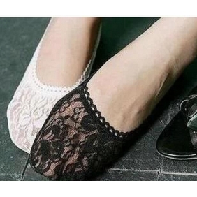 Fashion Lace Bottoming Socks