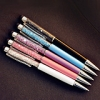 2in1 Swarovski Crystal Bling Blink Diamond Diamante Pen Touch Screen Stylus