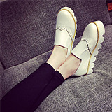 Casual Thick Bottomed Women Platform Shoes
