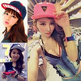 Korean Tide Women Men Flat Hip-Hop Hat Cap