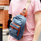 Korean Trend Outdoor Sports Men's Casual Canvas Shoulder Diagonal Chest Packet Bag