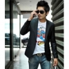 Korean Slim Fit Men's Coat Suit Blazer Jacket